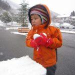 雪遊び、その②